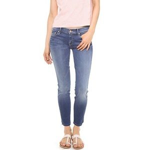 The Vamp Skinny Ankle Slit Jeans